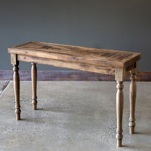 Reclaimed Wood Fixture Console Table