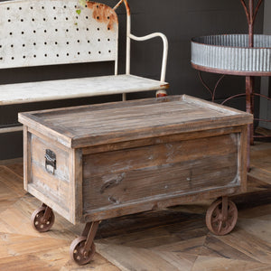 Wooden Warehouse Crate Coffee Table