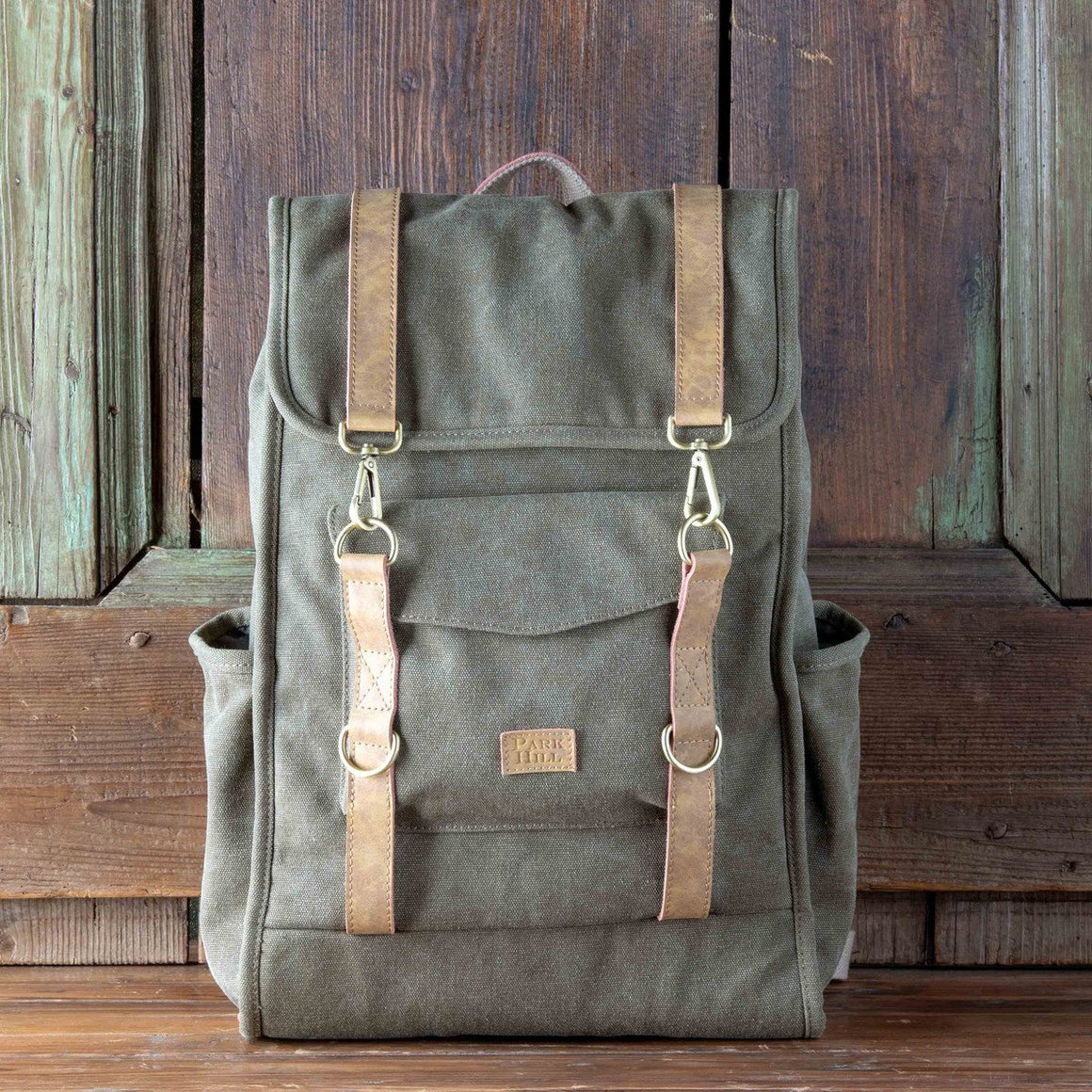Canvas Outdoorsman Backpack