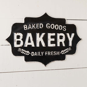 """Baked Goods/Bakery"" Metal Sign"