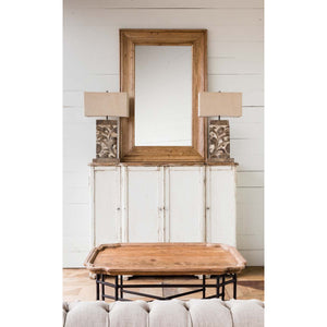 Oak Foyer Mirror