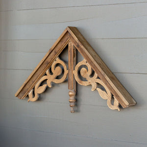 Decorative Wooden Gable Wall Hanging