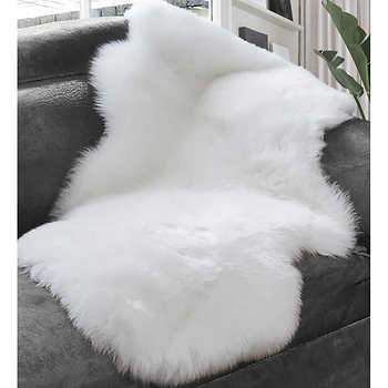 Faux Fur Rug - Small