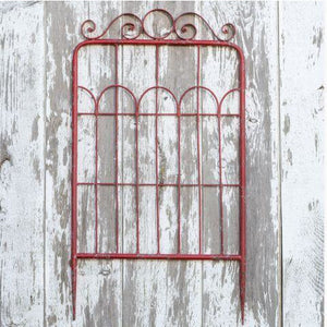 Red Garden Gate - Medium