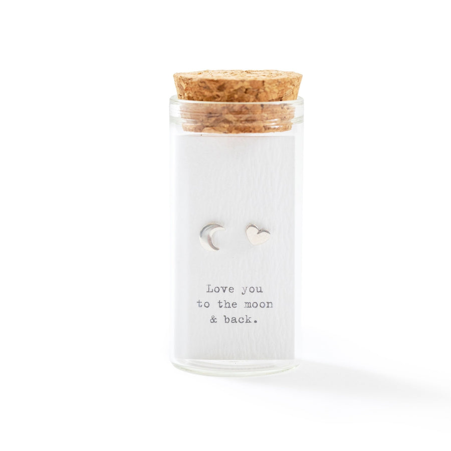 Message in a Bottle Sterling Silver Earring Collection