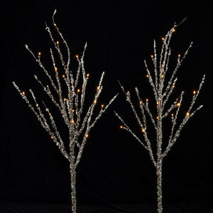 Iced Lighted Branch