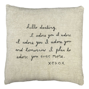 Pillow Collection - Letter #2
