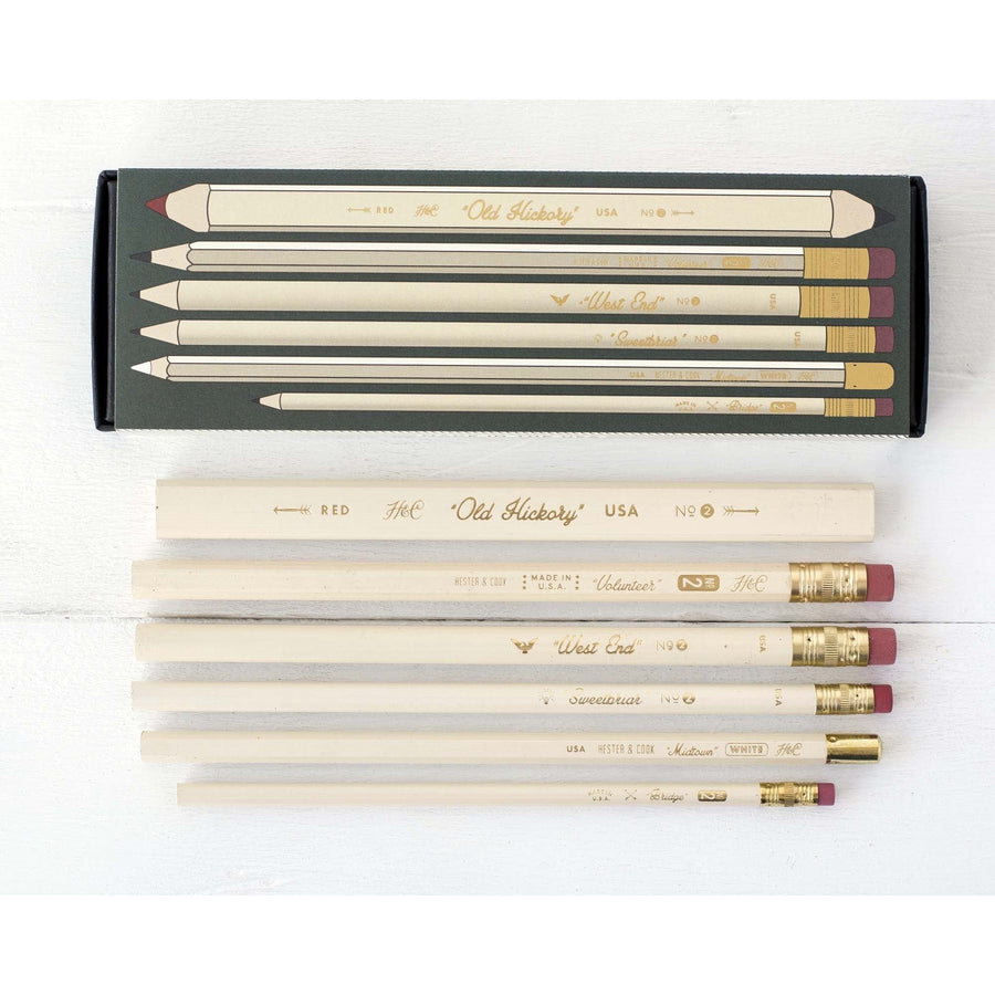 Collector's Set Pencils - Set of 6