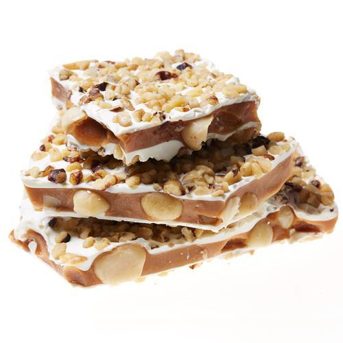Toffee To Go - White Chocolate Macadamia Toffee Resealables