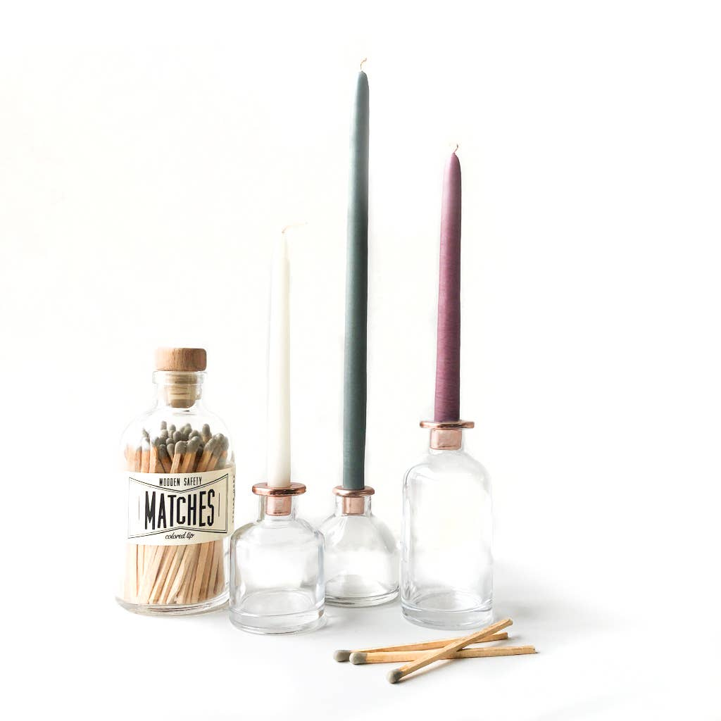 Made Market Co. - Glass Candle Holder - Small