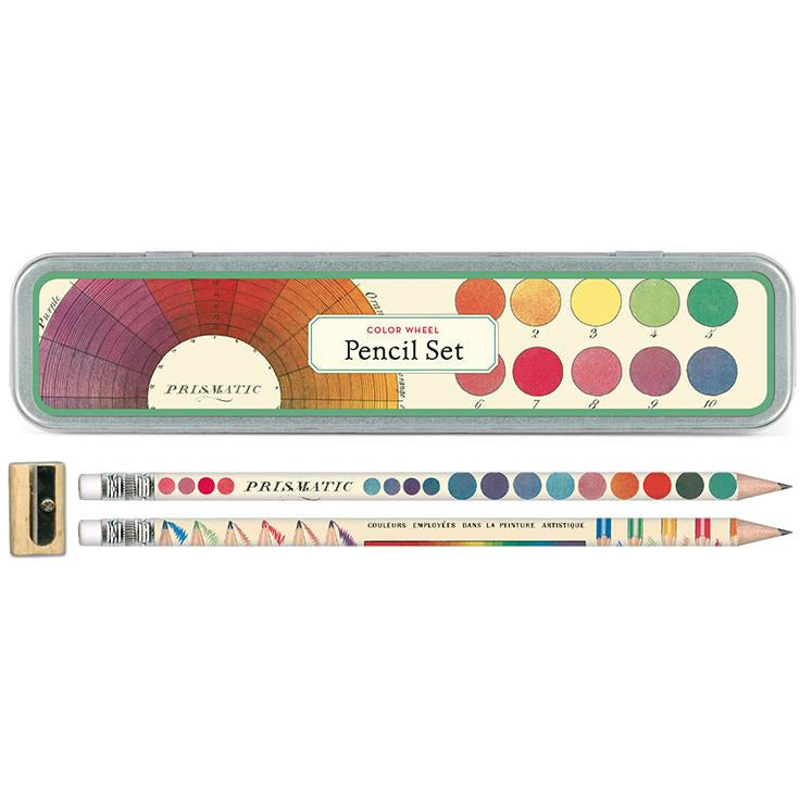 Color Wheel Pencil Set