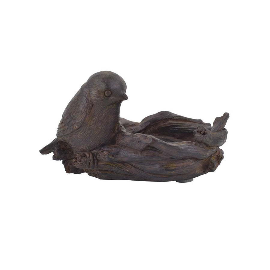 Bird w/Nest Tealight Holder