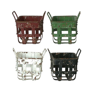 Metal Basket w/Handles