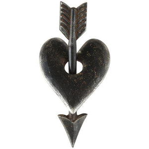 Cast Iron Heart & Arrow