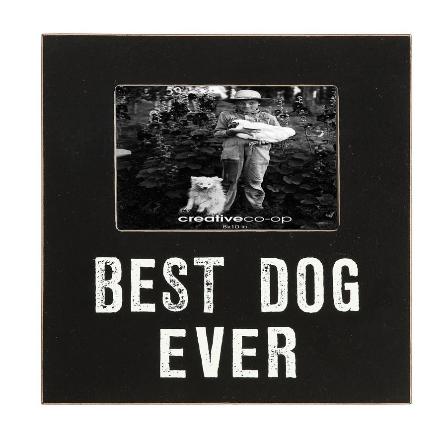 """Best Dog Ever"" Photo Frame"