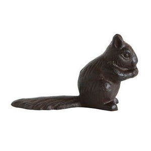 Cast Iron Squirrel Doorstop