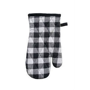 Gingham Hot Mitt