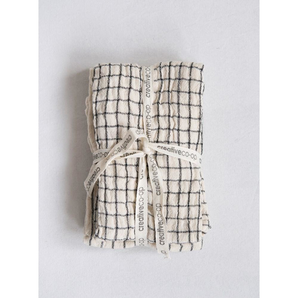Cotton Tea Towel - Natural