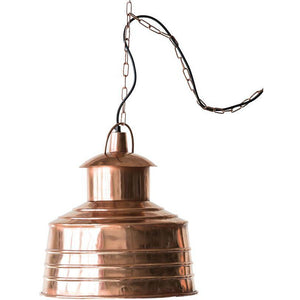 Copper & Metal Pendant Lamp