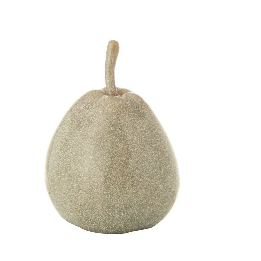 Grey Reactive Glaze Stoneware Pear