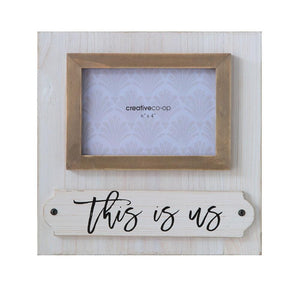 """This Is Us"" Wood Photo Frame"