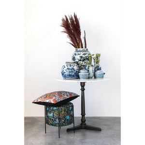 Marble Bistro Table w/ Cast Iron Base