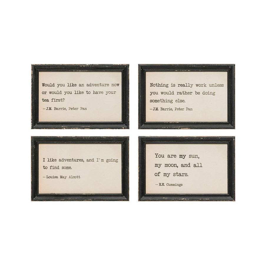 Wood Wall Decor w/Saying