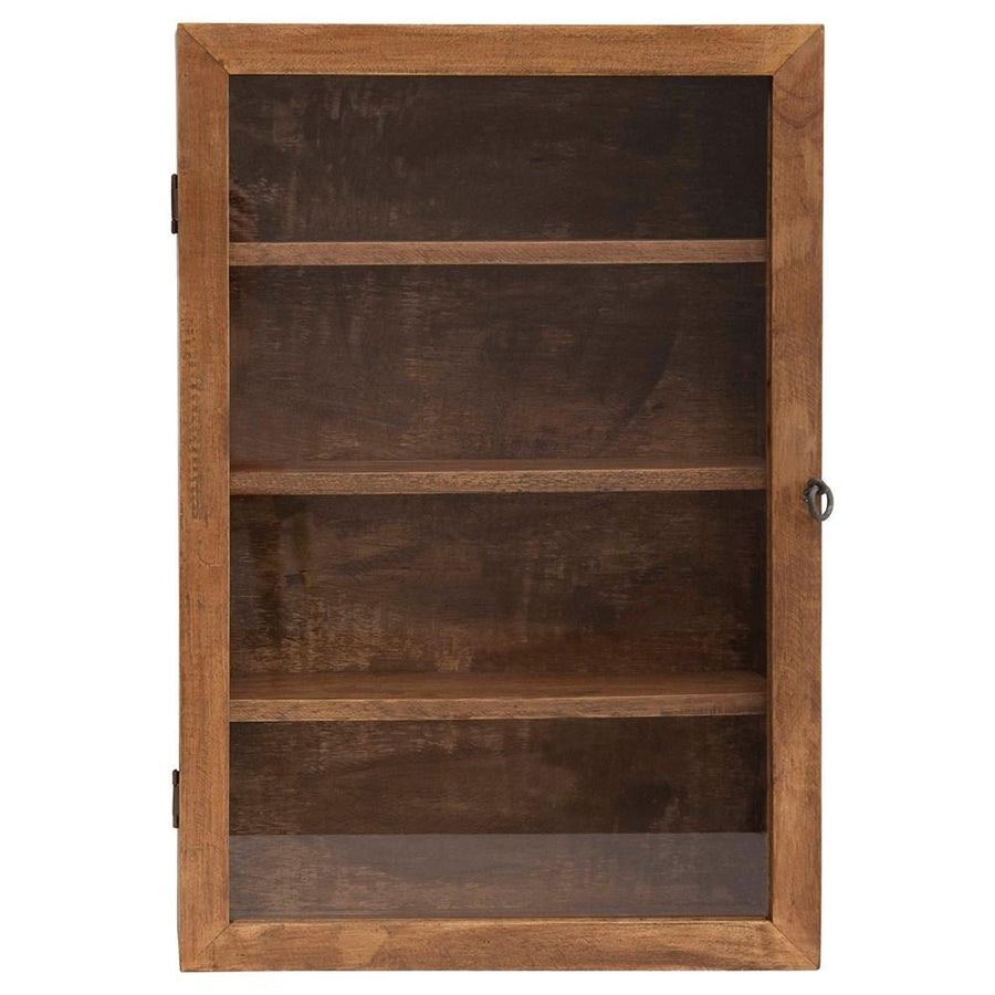 Mango Wood & Glass Shadow Box - Large