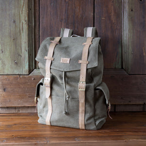 Canvas Utility Backpack