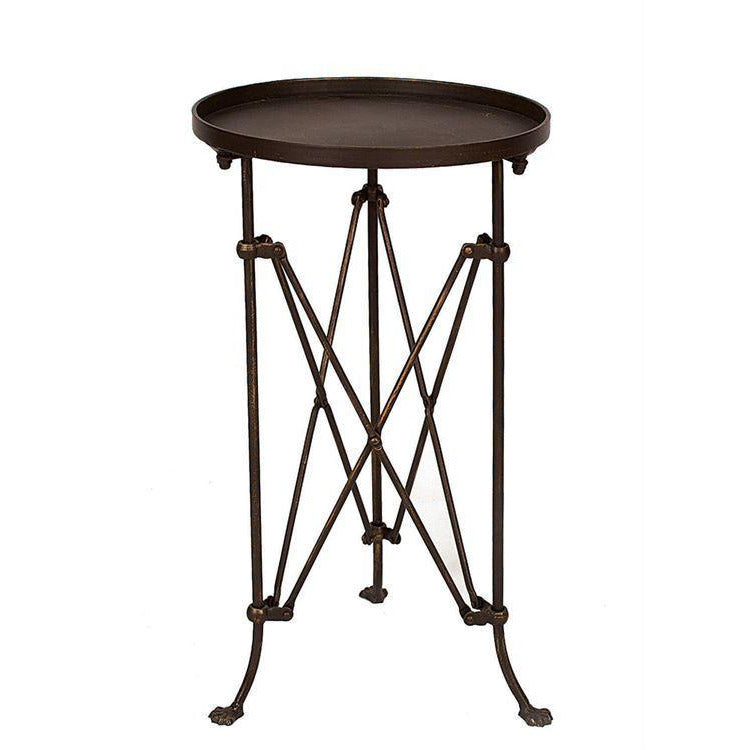Metal Table w/Bronze Finish