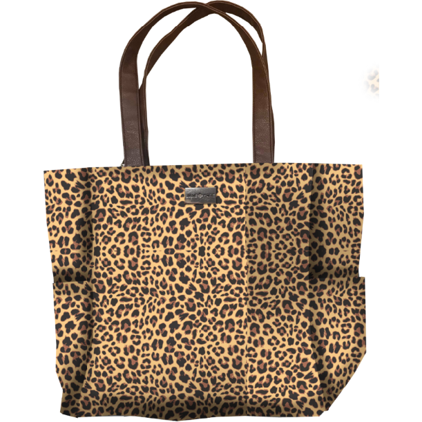 Born To Be Wild Tote - Leopard