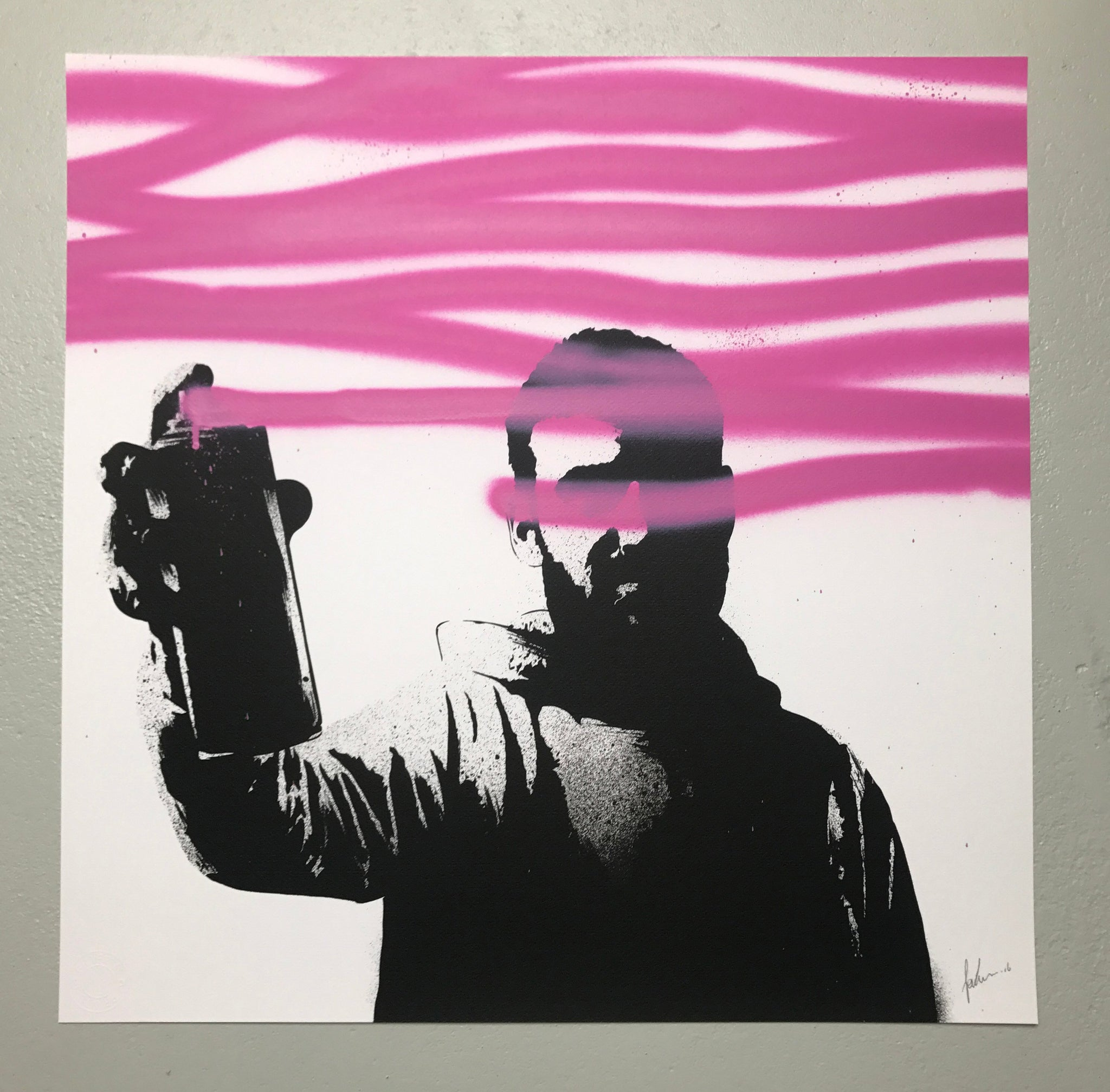 Spray your Screen (screen print)