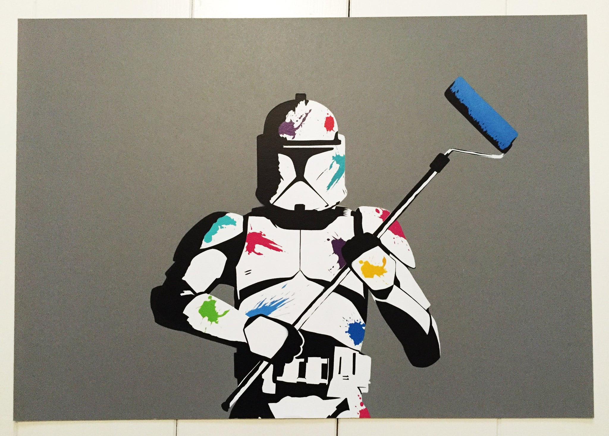 The Empire Paints Back Artist Proof