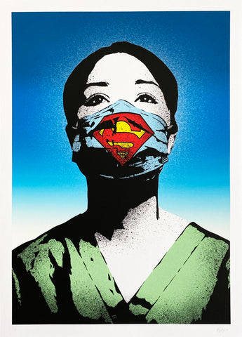 Super Nurse screen print (special edition of 50)