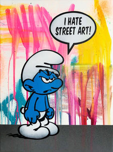 I Hate Street Art  canvas original (1/5)