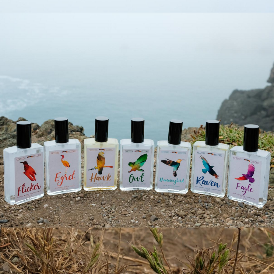 Feather Essence Meditation and Healing Sprays Collection