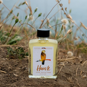 Hawk Feather Essence Anointing Oil