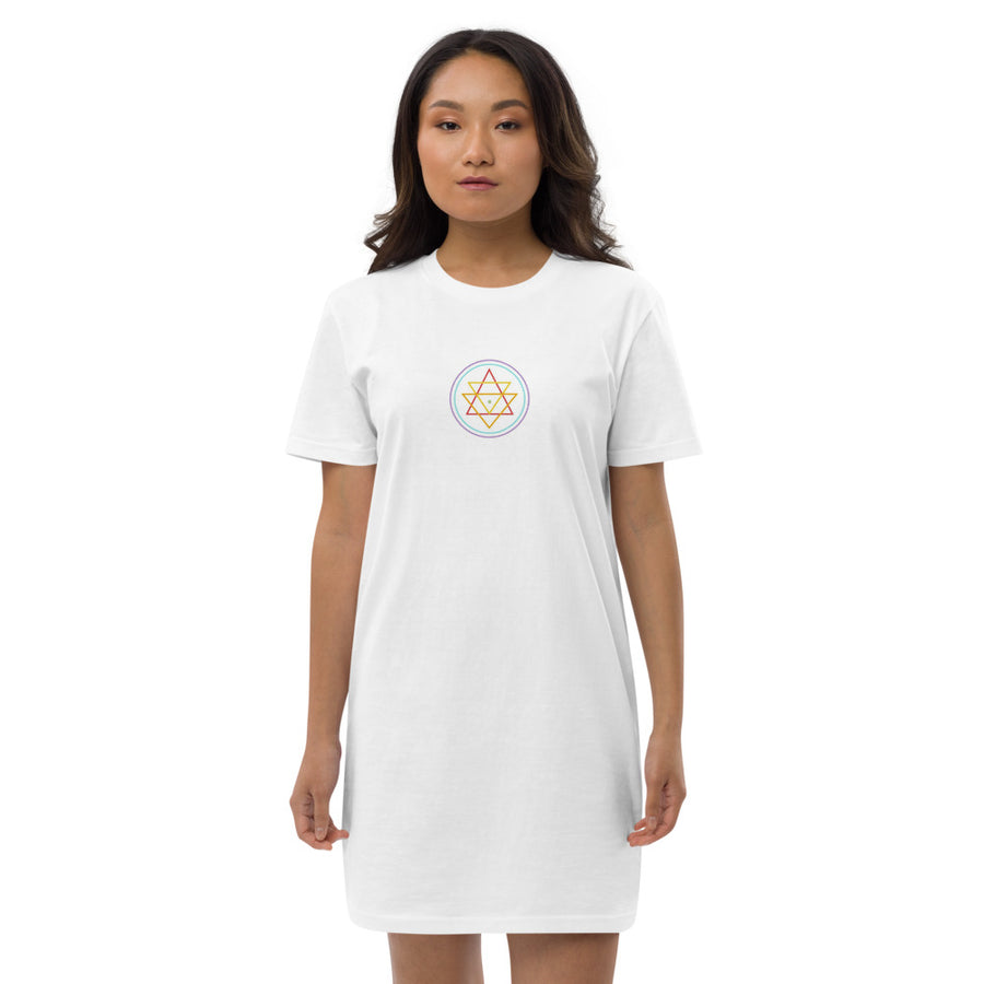 Soul Gratitude Organic cotton t-shirt dress