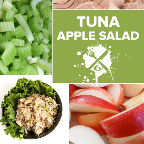 Meal Prep Sundays: Tuna Apple Salad