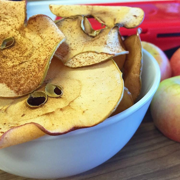 Meal Prep Sundays: Cinnamon Apple Chips