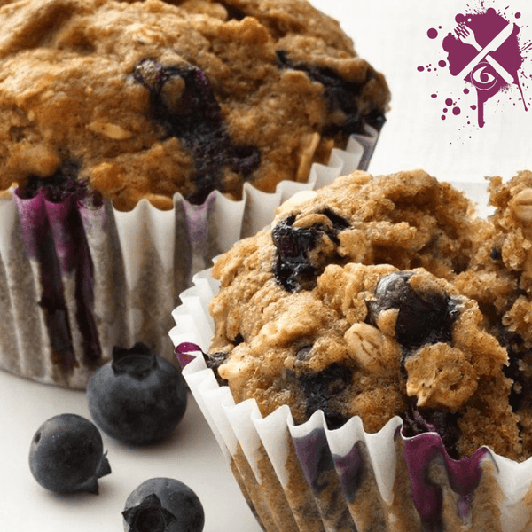Meal Prep Sundays: Blueberry Oat Muffins