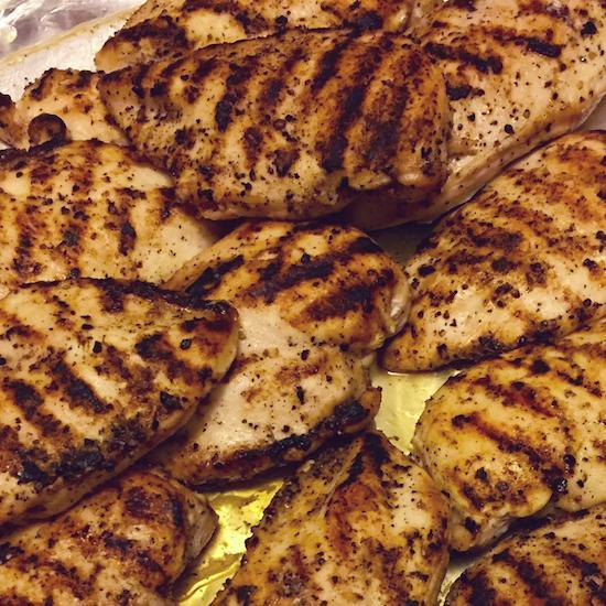 Meal Prep Sundays: Indoor Grilled Chicken