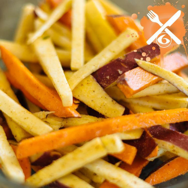 Meal Prep Sundays: Baked Sweet Potato Fries