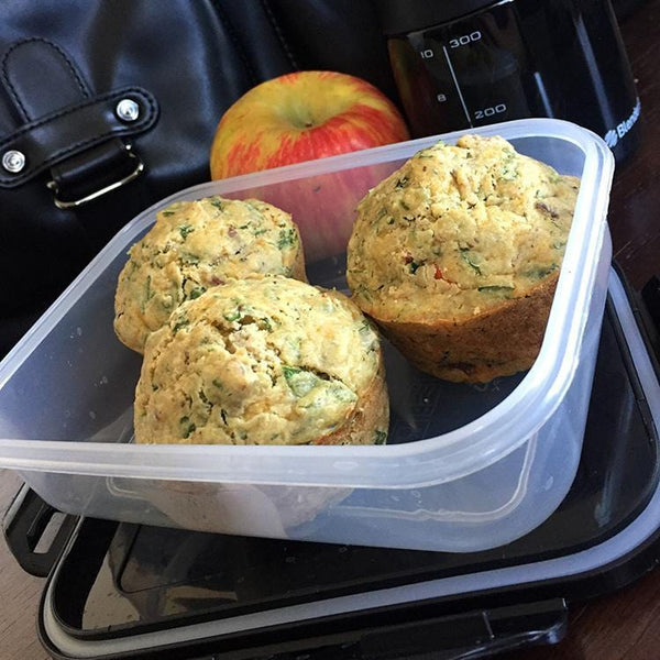 Meal Prep Sundays: Savory Breakfast Protein Buffins