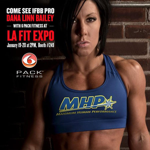 6 Pack Fitness Invades LA Fit Expo