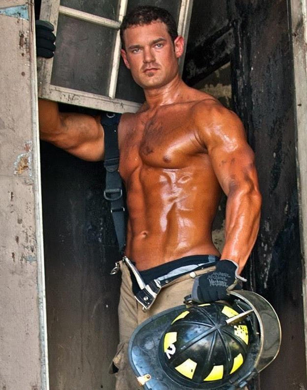 Firefighter Trent Vann Stays On Point With 6 Pack Bags