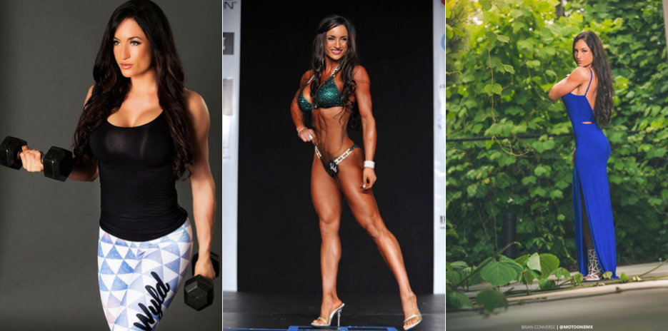 Jacki Frye Fitness Model Collage
