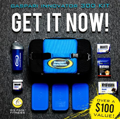 Innovator300 Gaspari Meal Management Bag
