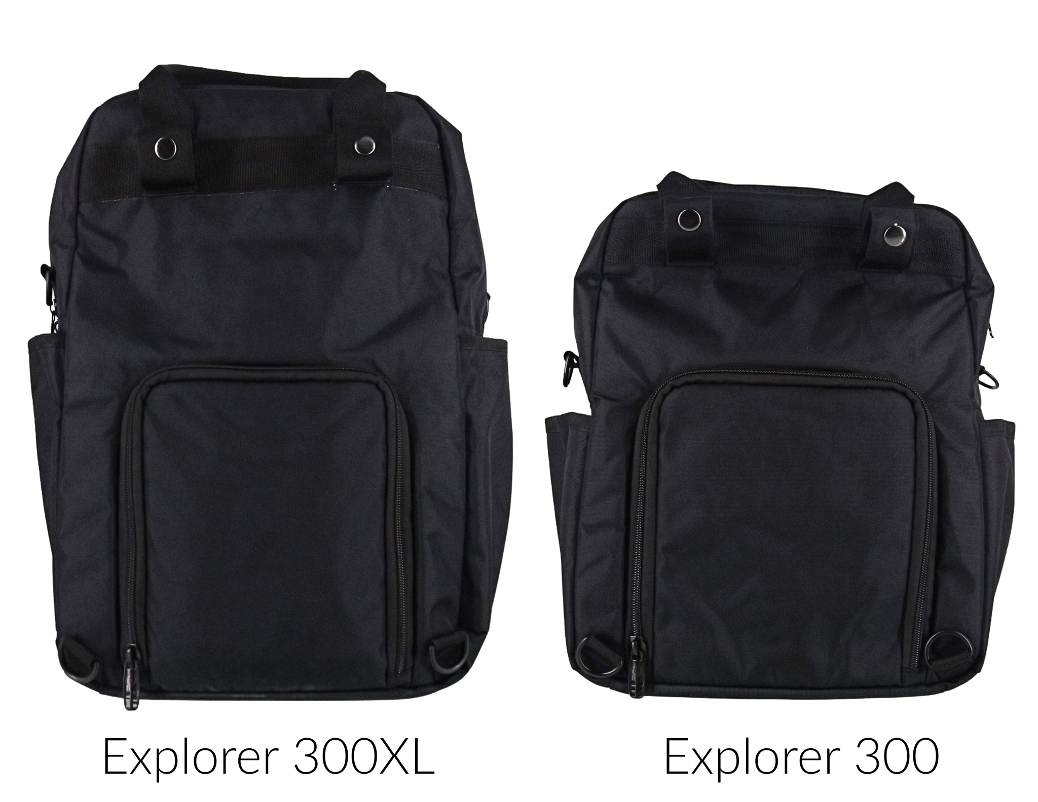 Explorer 300 Backpack Meal Prep Management System - Stealth (Black/Black)