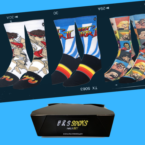 Socks box - Street fight box 🎮